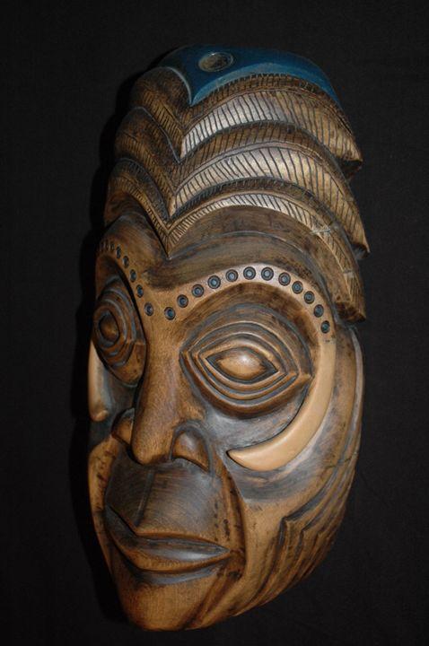 Hog Bone - Lohrenz wood masks