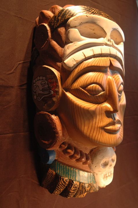 Mayan Chief - Lohrenz wood masks