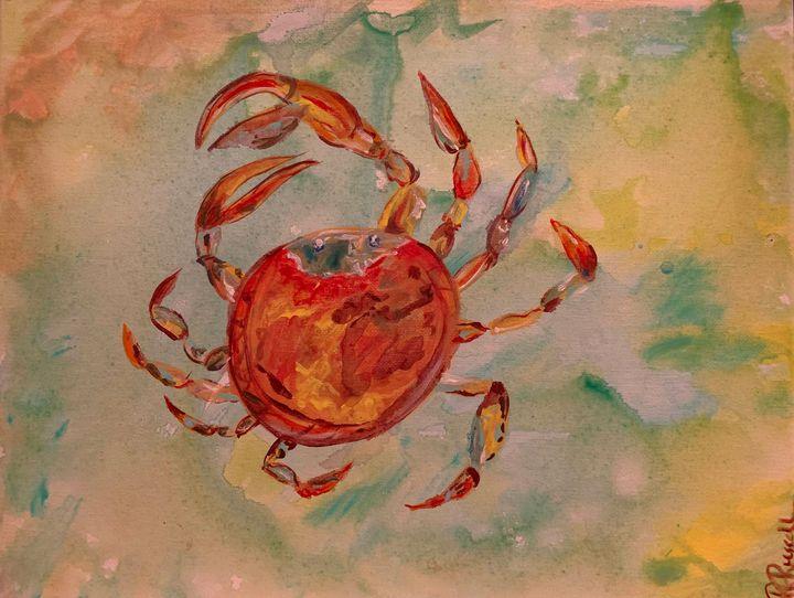 Crabby - Rebecca Russell Art