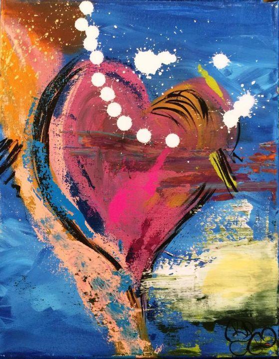Playful Heart! - Rebecca Russell Art