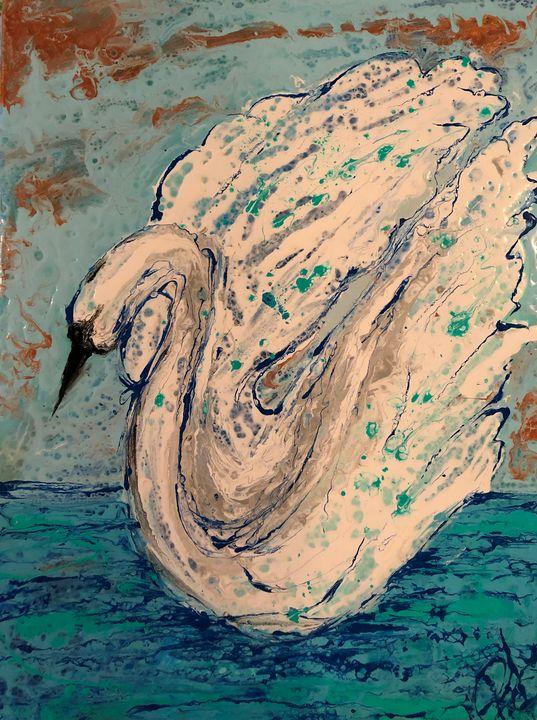 Swan Freedom - Rebecca Russell Art