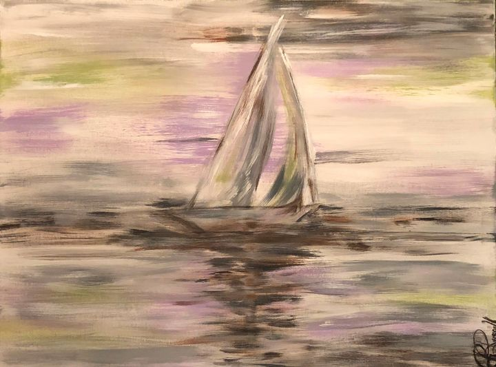 Boat Peace - Rebecca Russell Art