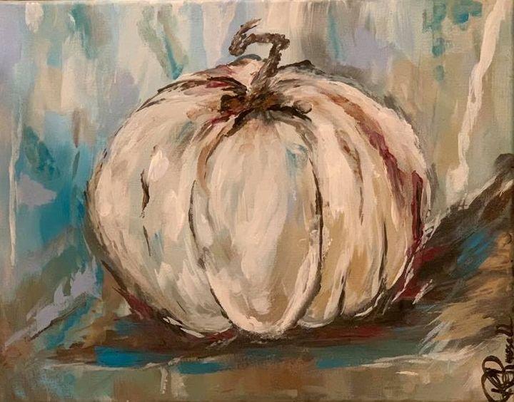 Be Still Pumpkin - Rebecca Russell Art