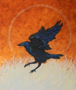 Raven in Sienna