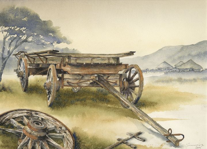 Ox wagon 1 - Peter Sunners