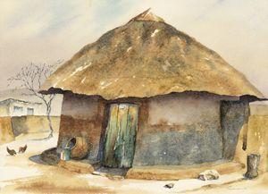 Mochudi village,  Botswana