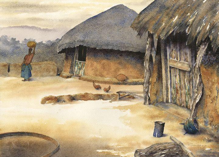 Lands (masimo) near Molepolole. - Peter Sunners
