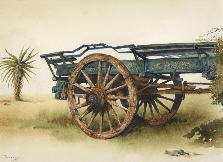 Ox wagon 3 - Peter Sunners