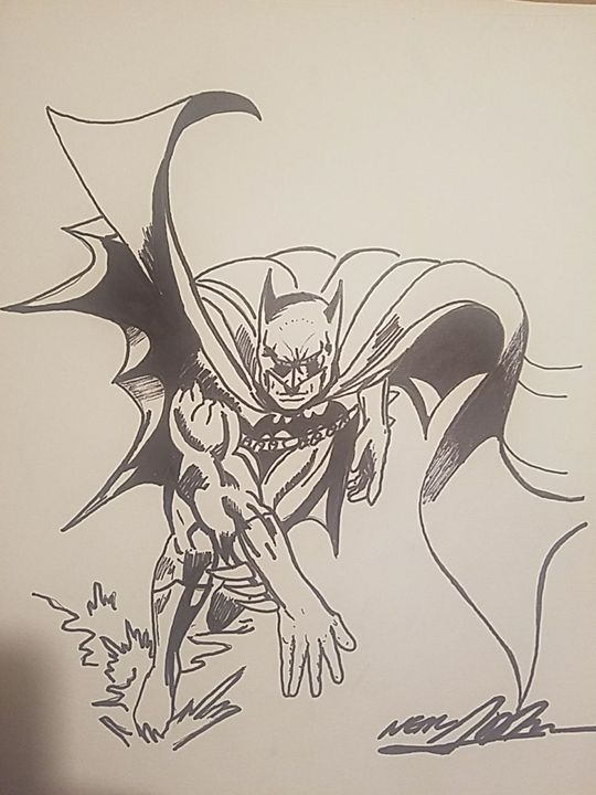 Batman by Neal Adams of Marvel & Dc. - Andrew Boone Superhero an Villain Gallery
