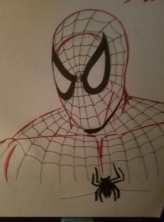 Spider-Man by J. Scot Campbell - Andrew Boone Superhero an Villain Gallery