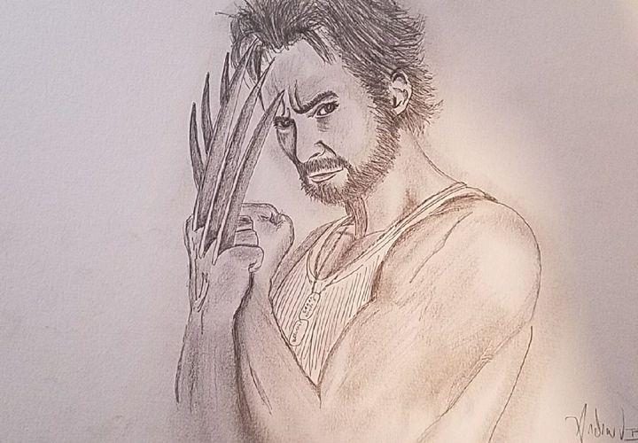 Hugh Jackman as WOLVERINE - Andrew Boone Superhero an Villain Gallery