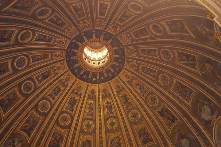 Inside the Dome: St. Peter's - Hankins Gallery