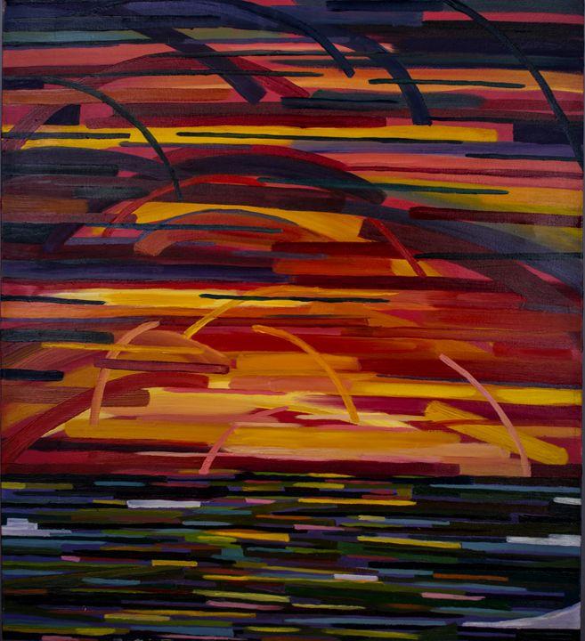 Midwest Sunset - Amanada Sabel