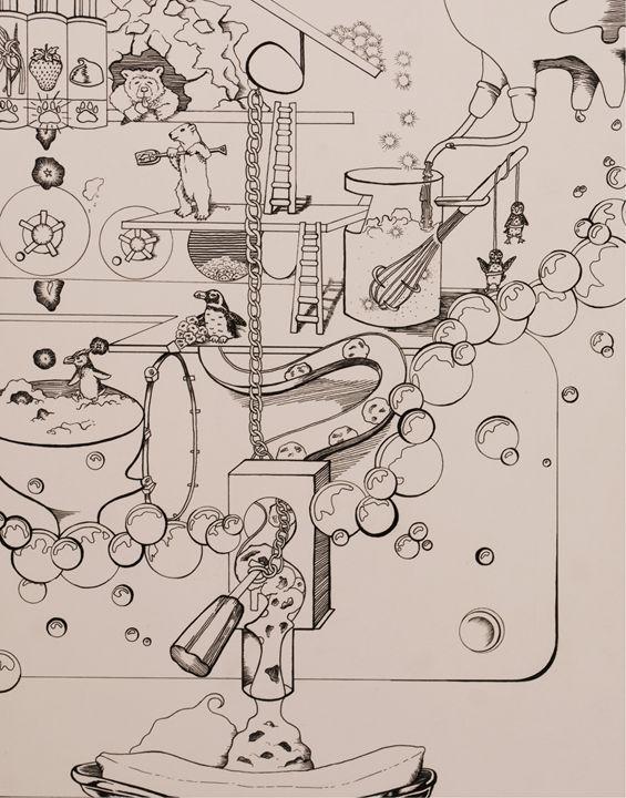 Icecream Machine - Amanada Sabel