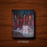 Acrylic painting. New York City.