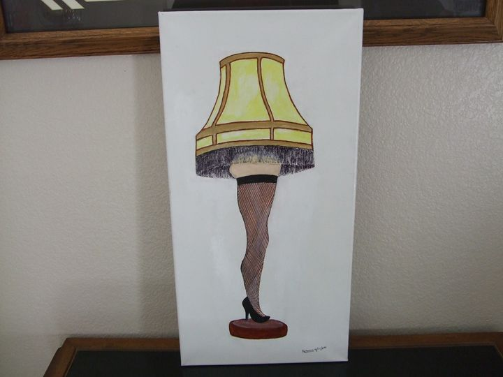 Christmas Story Leg Lamp - Maverick Designs