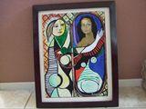 Mona Lisa at the Mirror