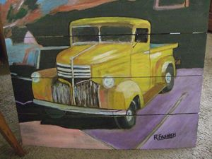 Yellow Truck - Maverick Designs