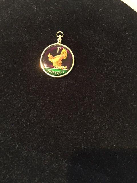 Ireland Coin Pendant - Maverick Designs