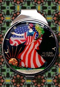 Hand Painted Walking Liberty Money C - Maverick Designs