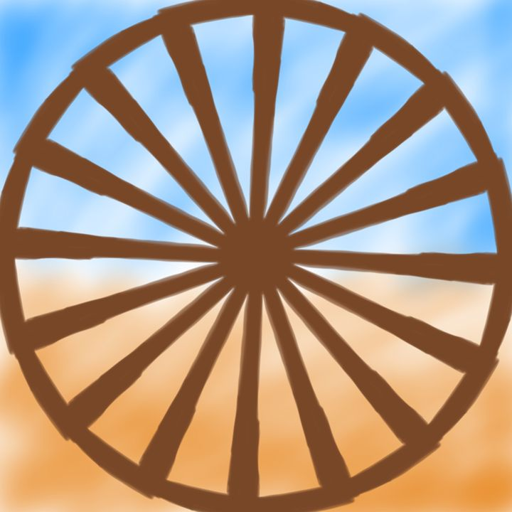 Desert Wheel - ET-art