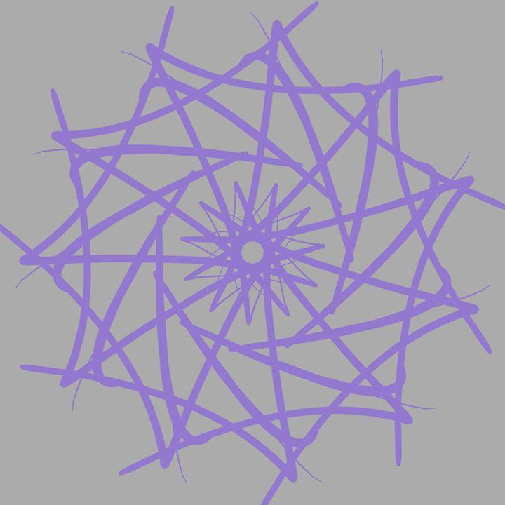 Purple Star - ET-art