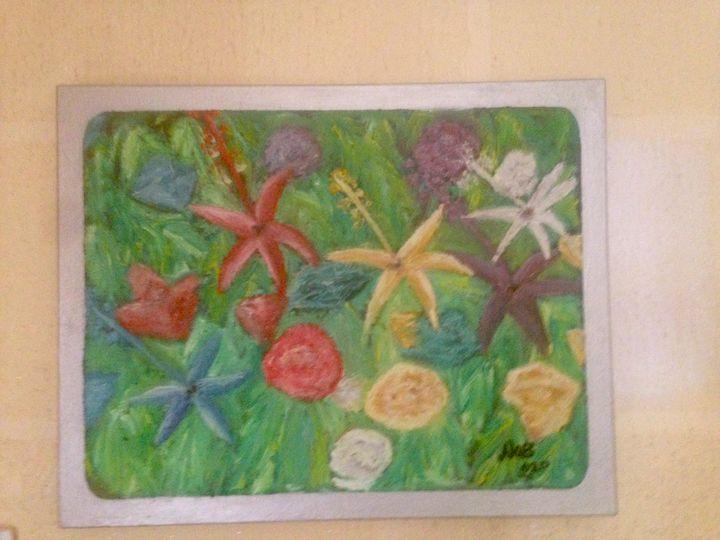 Flower Paradise - Idode-Onobumhe Art
