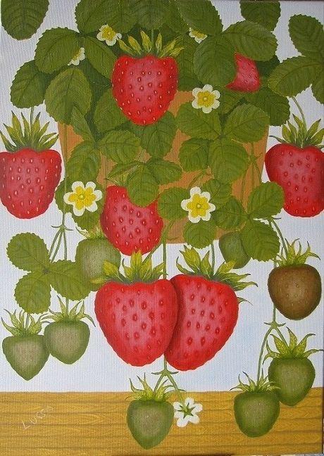 Φράουλες - Lusso Art