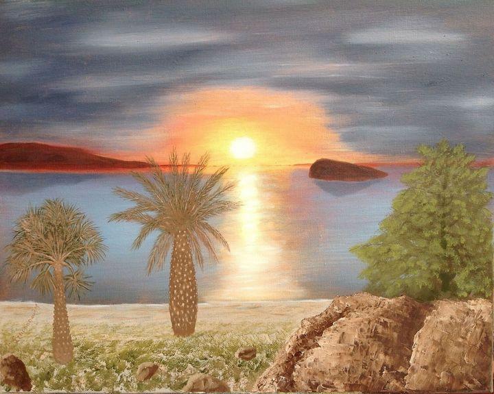 Sunset Ηλιοβασίλεμα - Lussoart