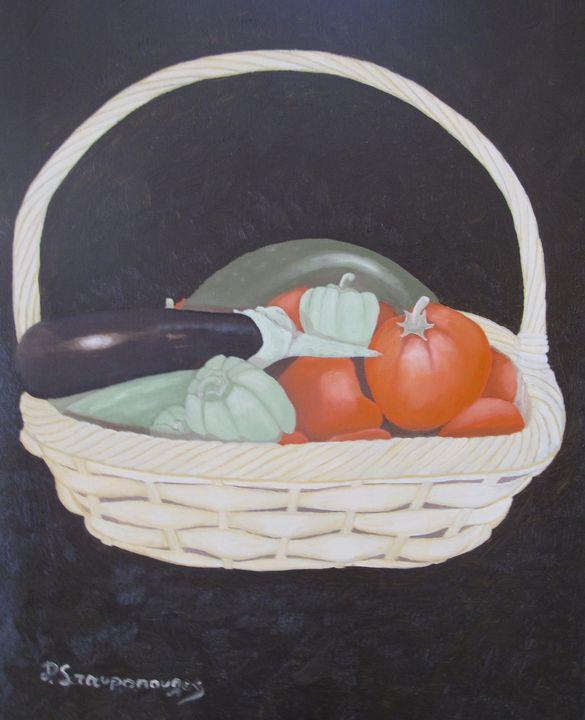 Basket Καλαθι - Lussoart