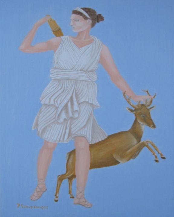 Θεά Άρτεμις - Lusso Art