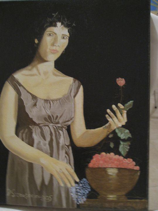 Κορίτσι με φρούτα - Lusso Art
