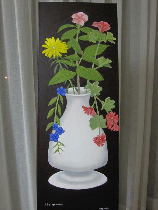 Ikebana Ανθοδέσμη - Lussoart