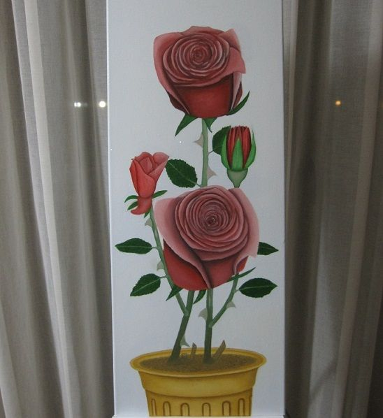 Τα τριαντάφυλλα - Lusso Art