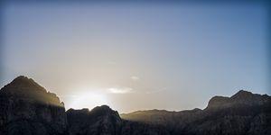 Sunset over the Range