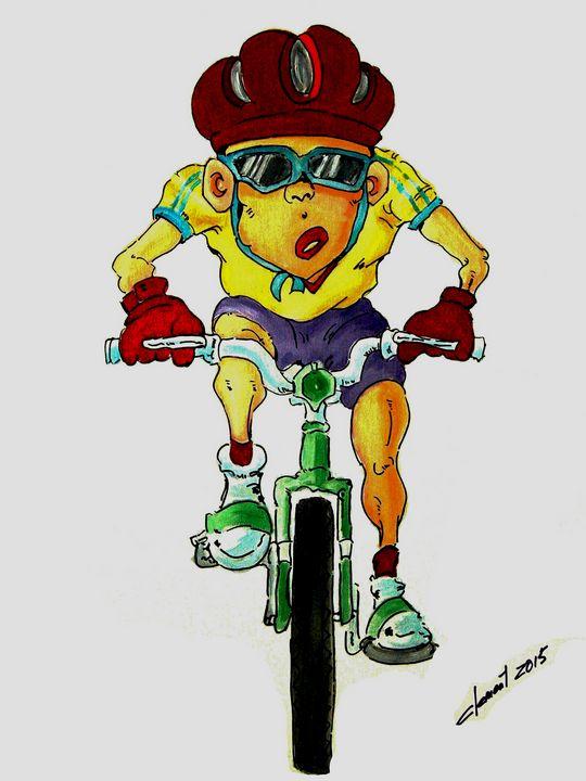 Bicycle Rider - One Studio