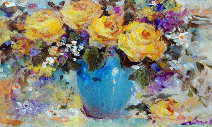Yellow Roses - One Studio