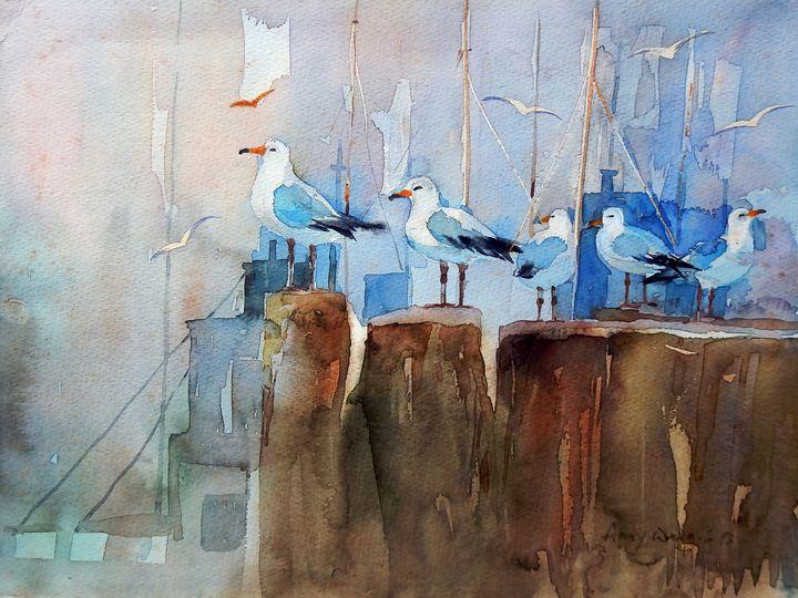 Pigeon at Pier - One Studio