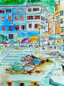 Street Scenery - Italy