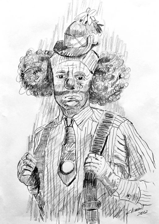 Clown with Tears - One Studio