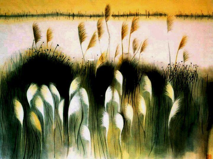 Autumn Wheat Field - One Studio