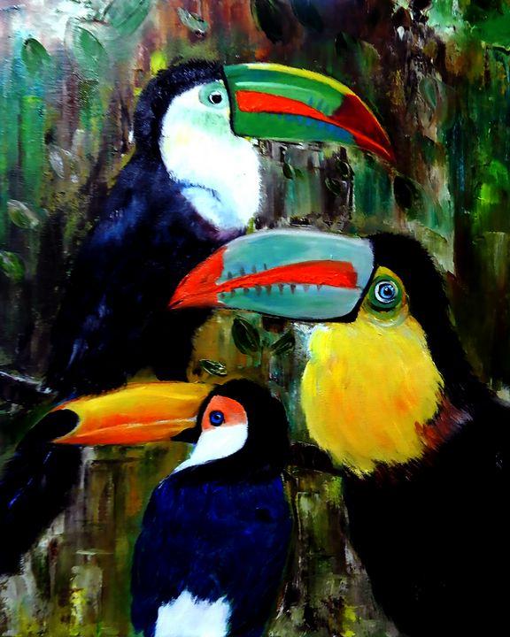 Three Toucans - One Studio