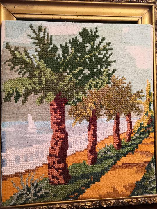 """Promenade"" - Olga's private collection handmade"