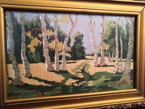 "A. Kuindzhi ''Birch Grove"""