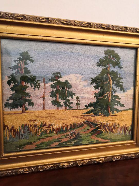 "I.Shishkin  ""Rye"" - Olga's private collection handmade"