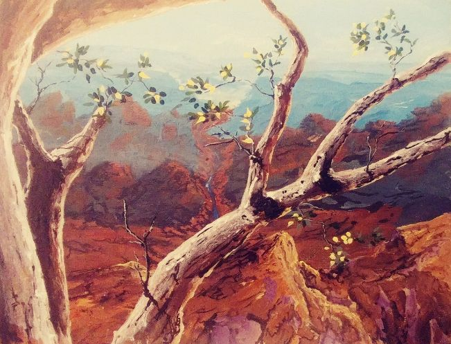 The Long View - Southwestern Paintings by David