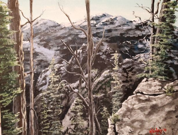 In The Timber - Southwestern Paintings by David