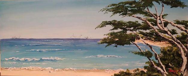 Kauai Beach - Southwestern Paintings by David
