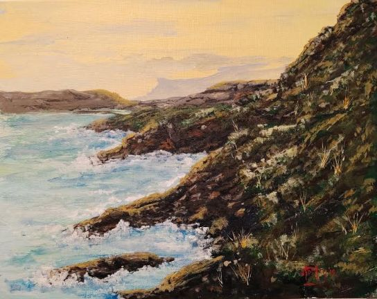 My Wild California Coast - Southwestern Paintings by David
