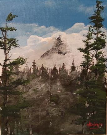 Winter's Grip - Southwestern Paintings by David